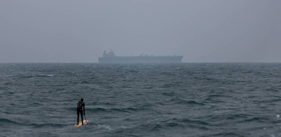 Casper Steinfath North Sea paddling