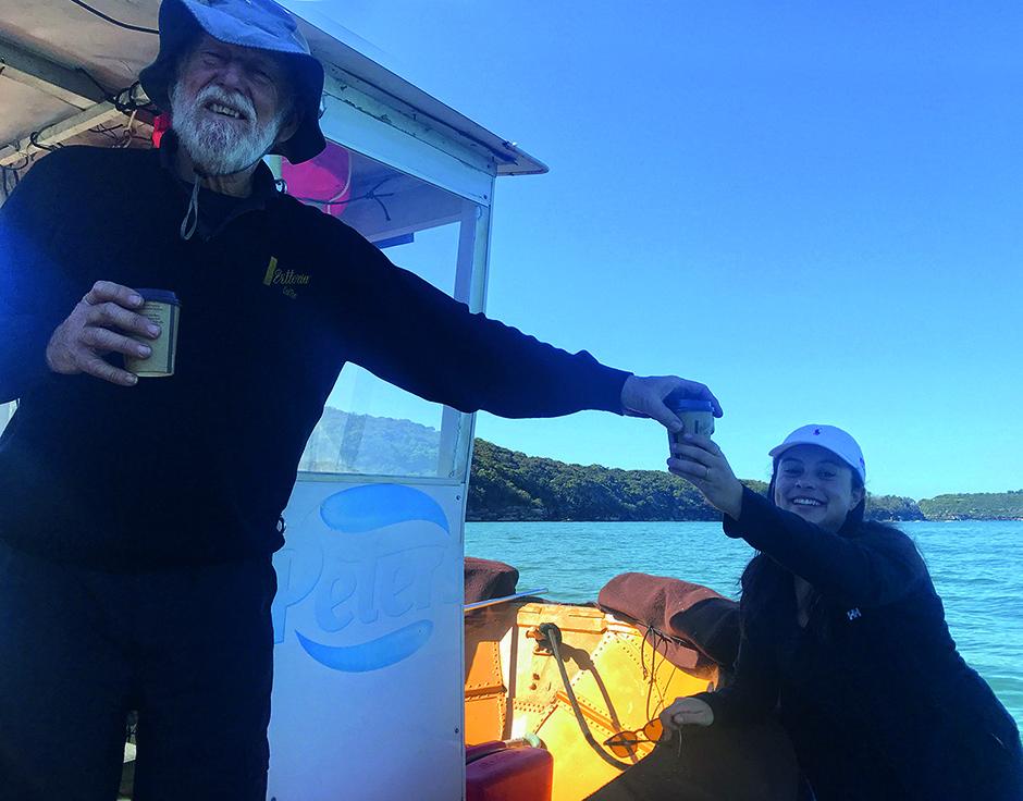 Gary, the coffee boatman
